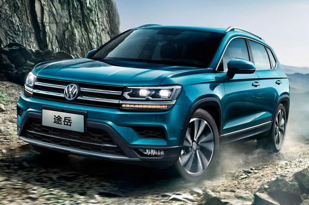 Volkswagen Tarek é vendido como Tharu na China (Foto: Divulgação)