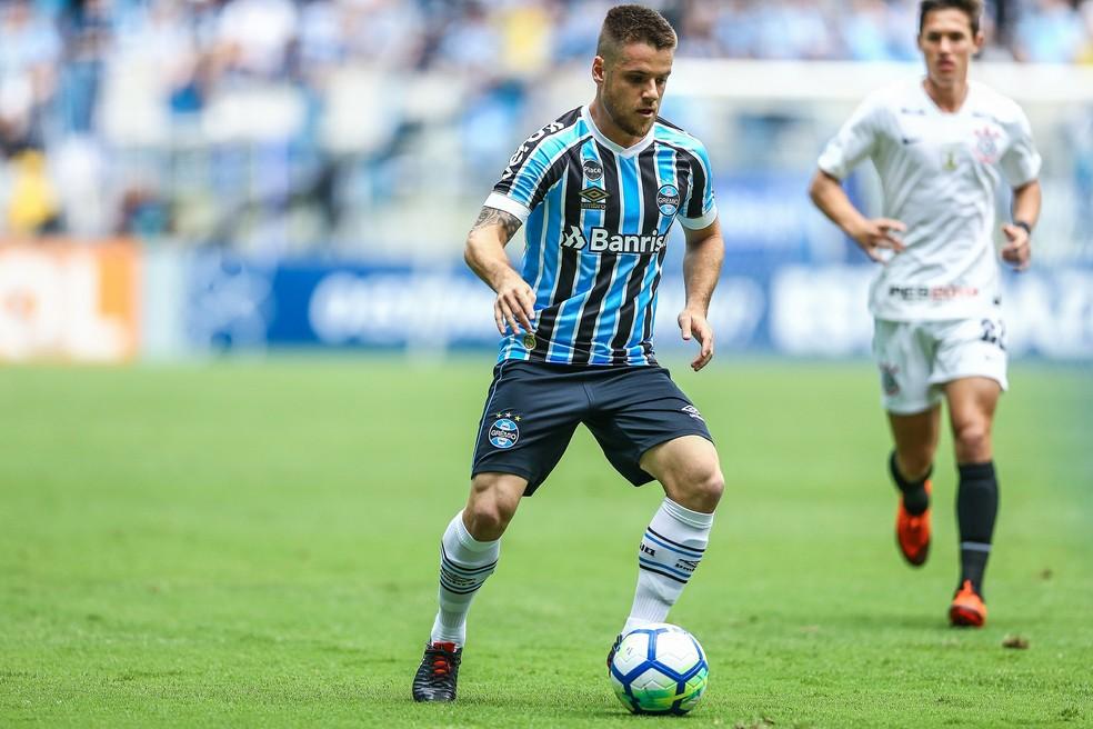 Ramiro fechou ano como titular, mas ficou devendo — Foto: Lucas Uebel/Grêmio/Divulgação