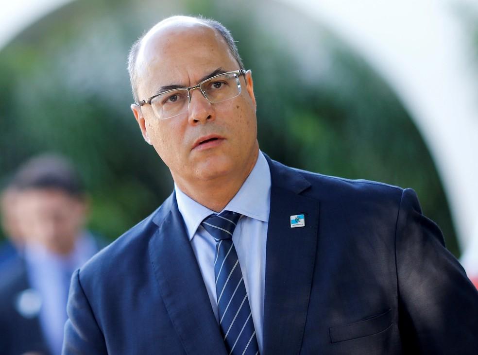 Governador do RJ, Wilson Witzel — Foto: Adriano Machado / Reuters