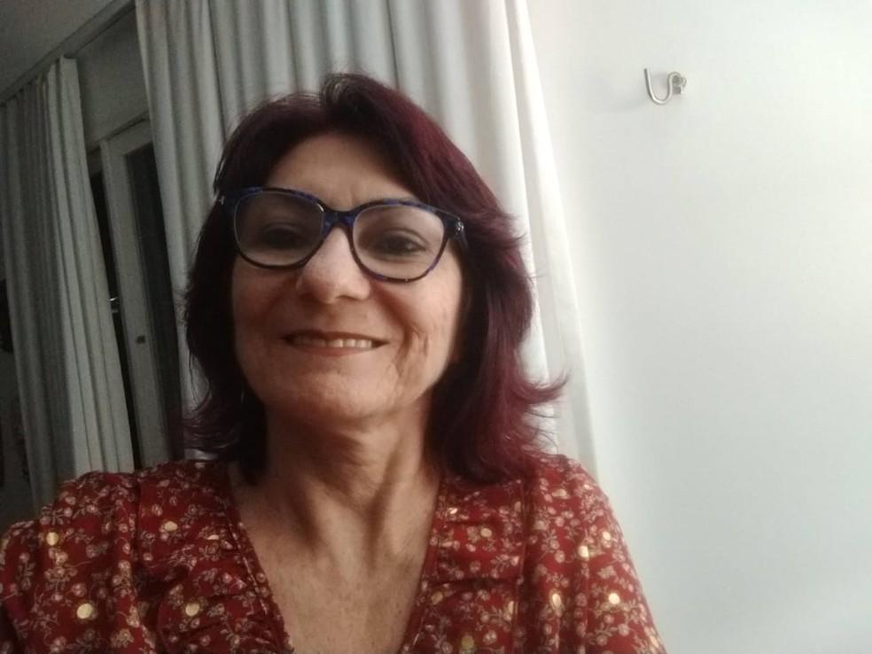 Maria Isabel Dantas, professora que pesquisa o valor simbólico da comida — Foto: Maria Isabel Dantas/Arquivo Pessoal
