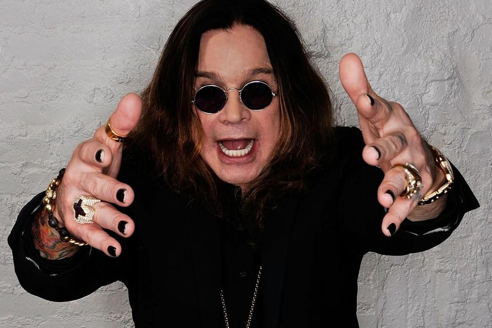-  Ozzy Osbourne é vocalista do Black Sabbath  Foto: Divulgação