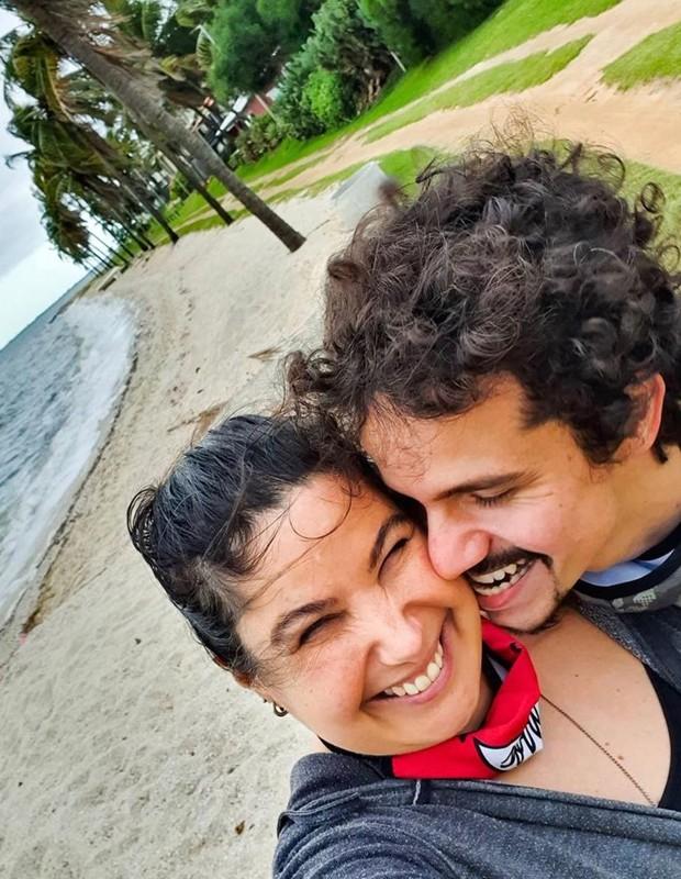 Mariana Xavier namora Diego Braga (Foto: Reprodução/Instagram)