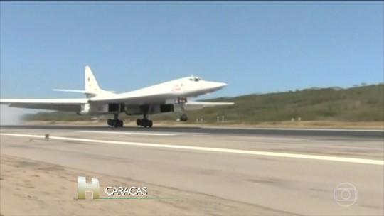 Rússia envia aviões com capacidade nuclear para a Venezuela