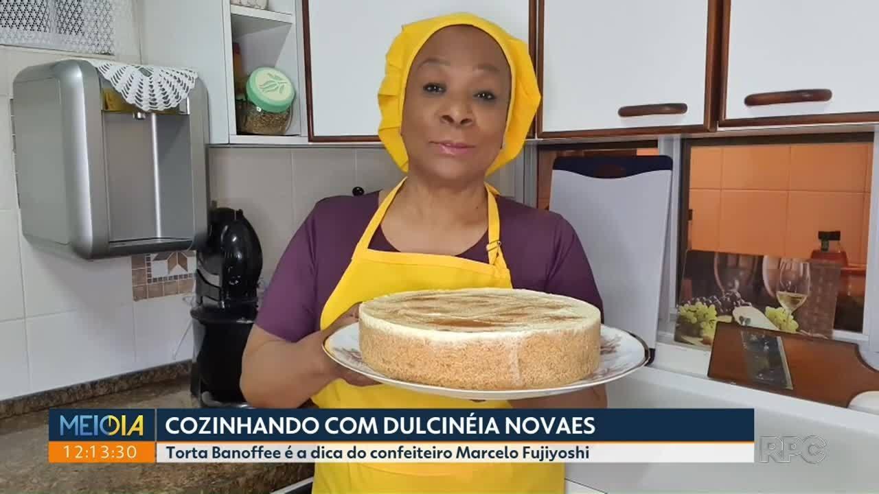 Torta Banoffee é a receita do quadro Cozinhando com Dulcinéia Novaes