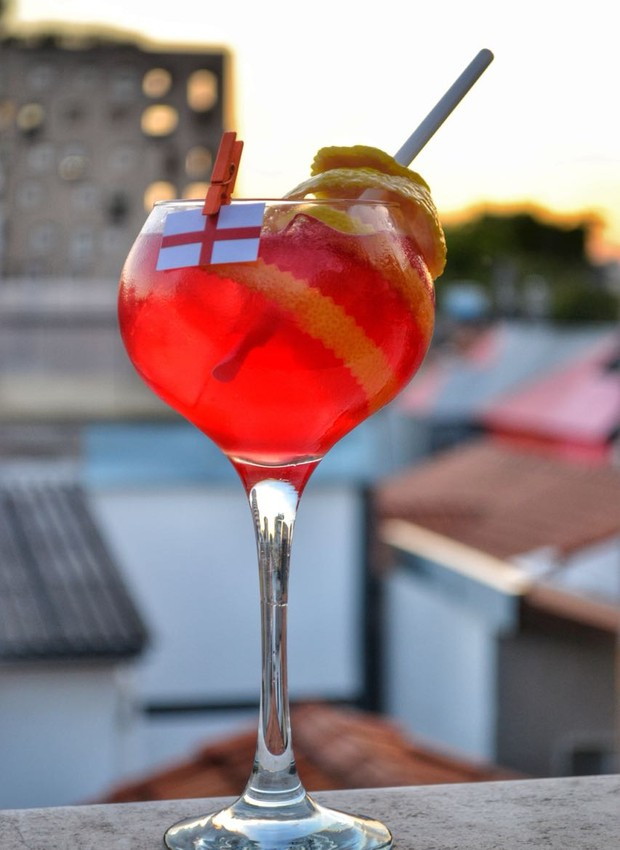 Drinque da Inglaterra, da Pizzaria Soggiorno (Foto: Guilherme Hungria/Divulgação)