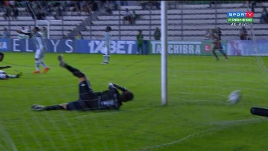 Os gols de Juventude 1 x 1 Oeste, pela Série B do Campeonato Brasileiro