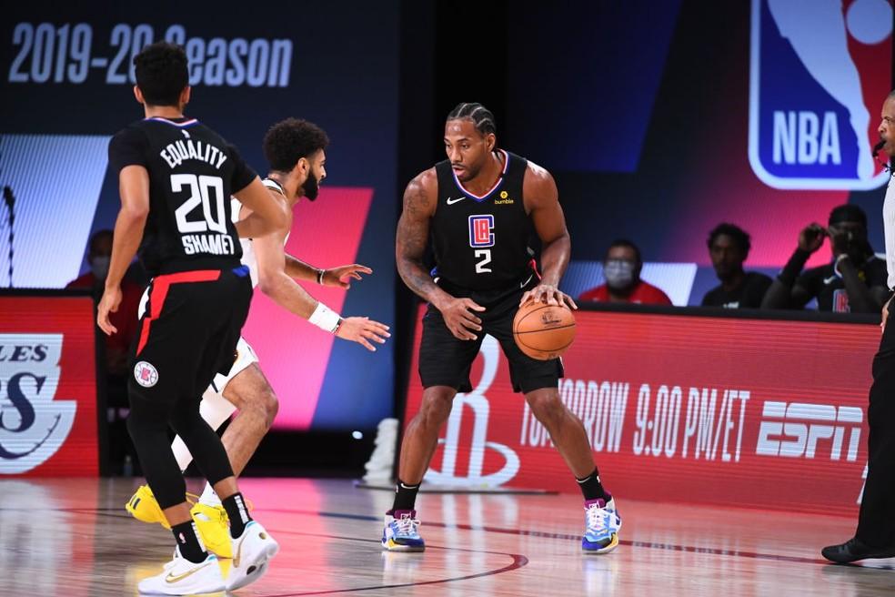 Kawhi comanda noite impecável dos Clippers, que atropelam e fazem 1 a 0 nos Nuggets | nba | ge