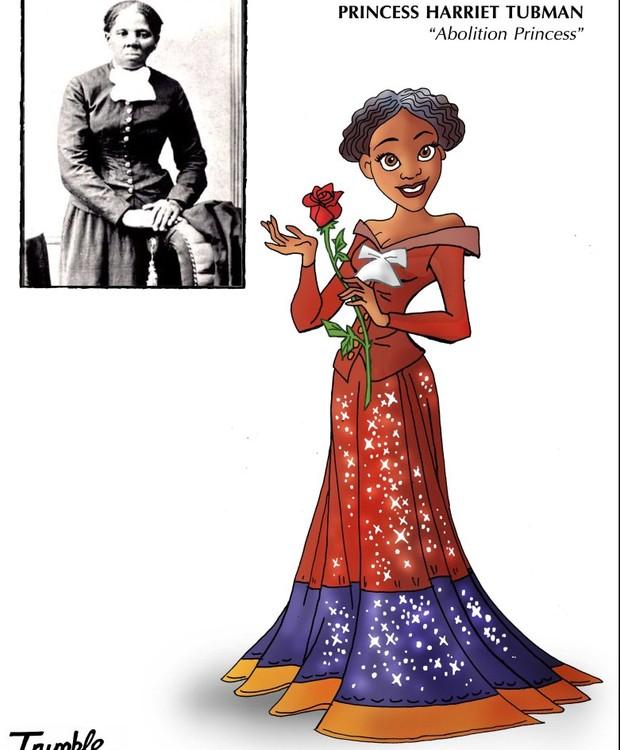 Harriet Tubman, princesa da abolição (Foto: Trumble/ Reprodução)
