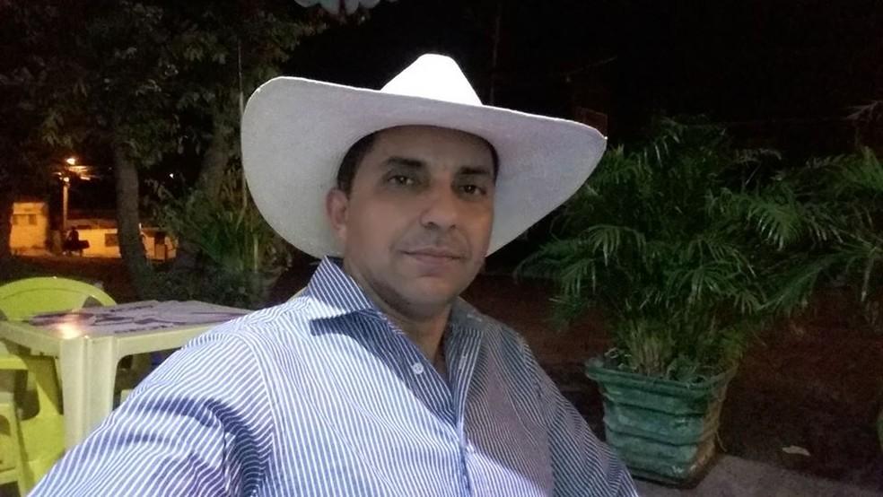 Idaspe Perdigão era delegado da cidade de Esperantinópolis e foi preso em agosto de 2018 — Foto: Arquivo Pessoal