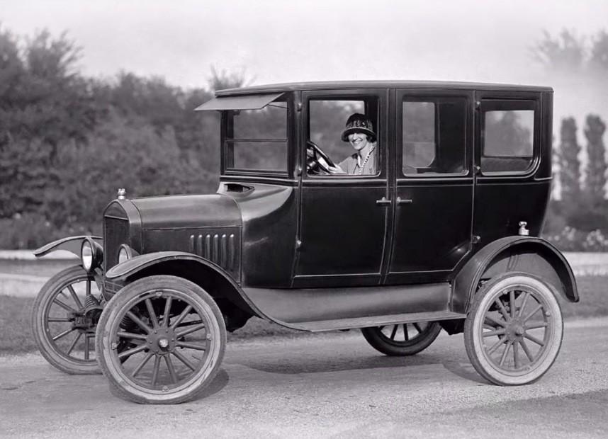 Ford Model T 1924 serviu de base para a releitura (Foto: Divulgação: Ford)
