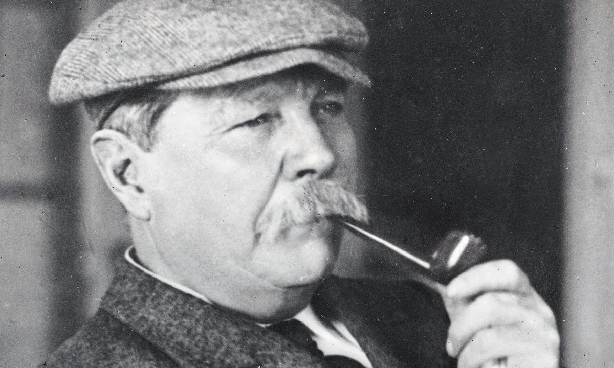Retrato de Sir Arthur Conan Doyle (Foto: Reprodução)