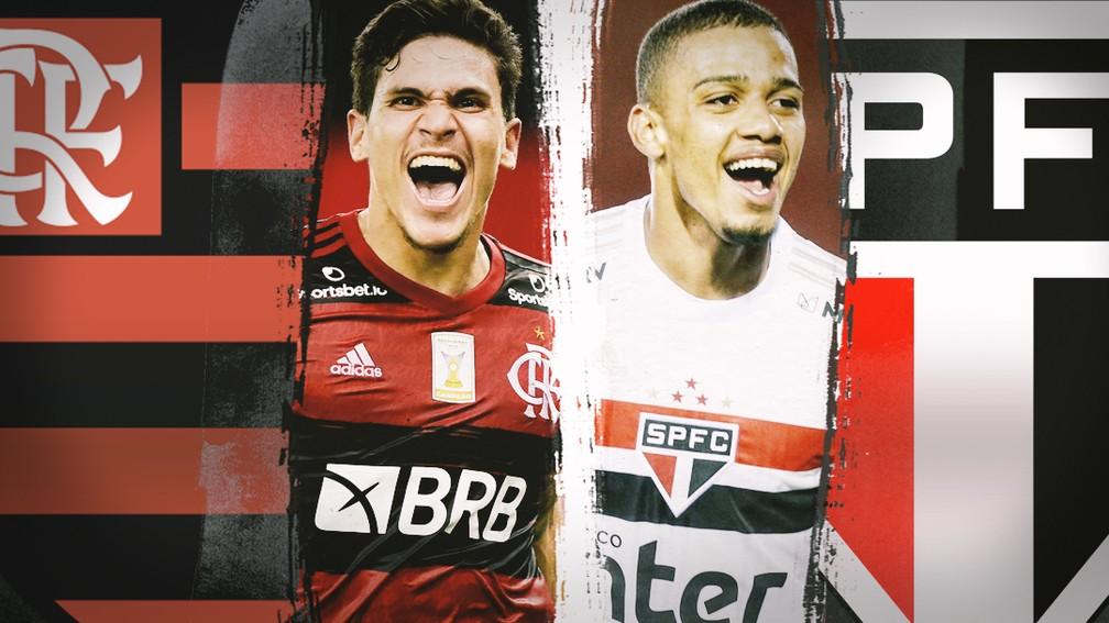 SPNet - Flamengo x São Paulo: Pedro e Brenner são os ...