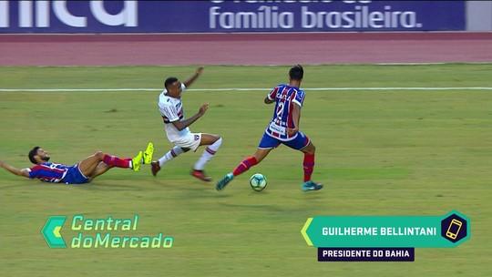 Presidente do Bahia confirma pausa nas negociações com Corinthians por Juninho Capixaba
