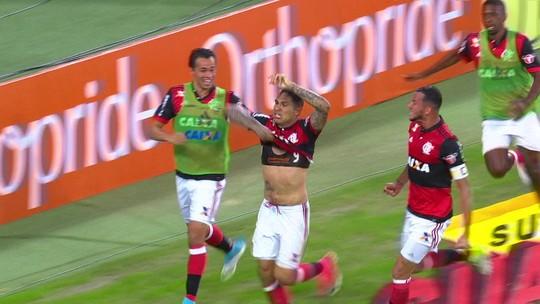 Henrique vê falta no primeiro gol do Fla, e Lucas reclama de arrogância do juiz