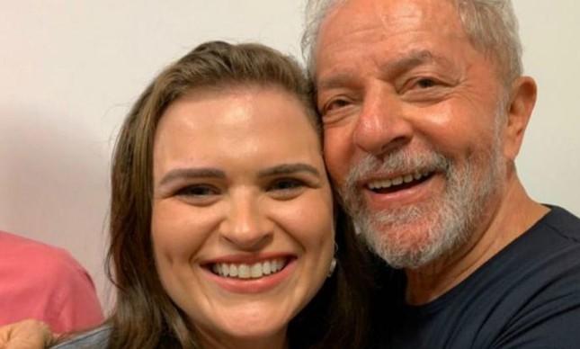 Marília Arraes e o ex-presidente Lula