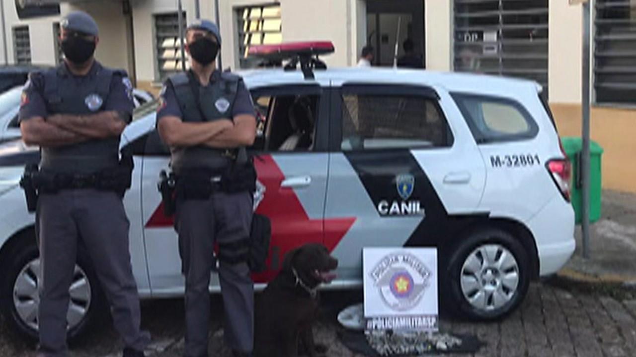 Operação da Polícia Militar apreende mais de 16,2 quilos de drogas em Mogi das Cruzes