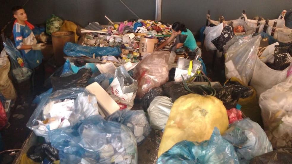 Coletores de recicláveis em Campinas estão preocupados com risco de contaminação pelo coronavírus e perda de renda — Foto: Jéssica Felício Fuchs