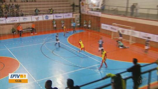 Ouro Fino e Monte Santo de Minas se preparam para final da Taça EPTV de Futsal
