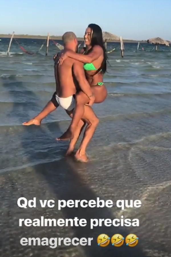 Belo e Gracyanne Barbosa (Foto: Instagram/Reprodução)
