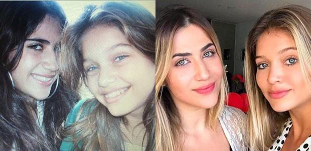 Jéssica Costa, filha de Leonardo, e Lyandra Costa, filha de Leandro (Foto: Reprodução/Instagram)