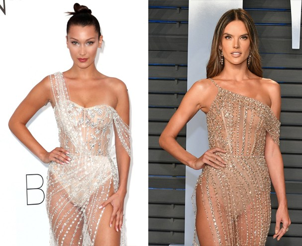 Bella Hadid e Alessandra Ambrosio (Foto: Getty Images)