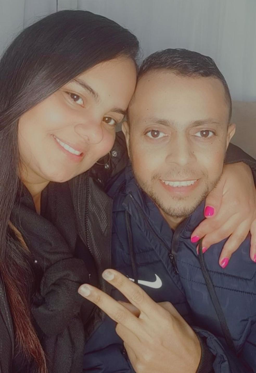 Camila acompanhou todo o tratamento do marido — Foto: Arquivo Pessoal