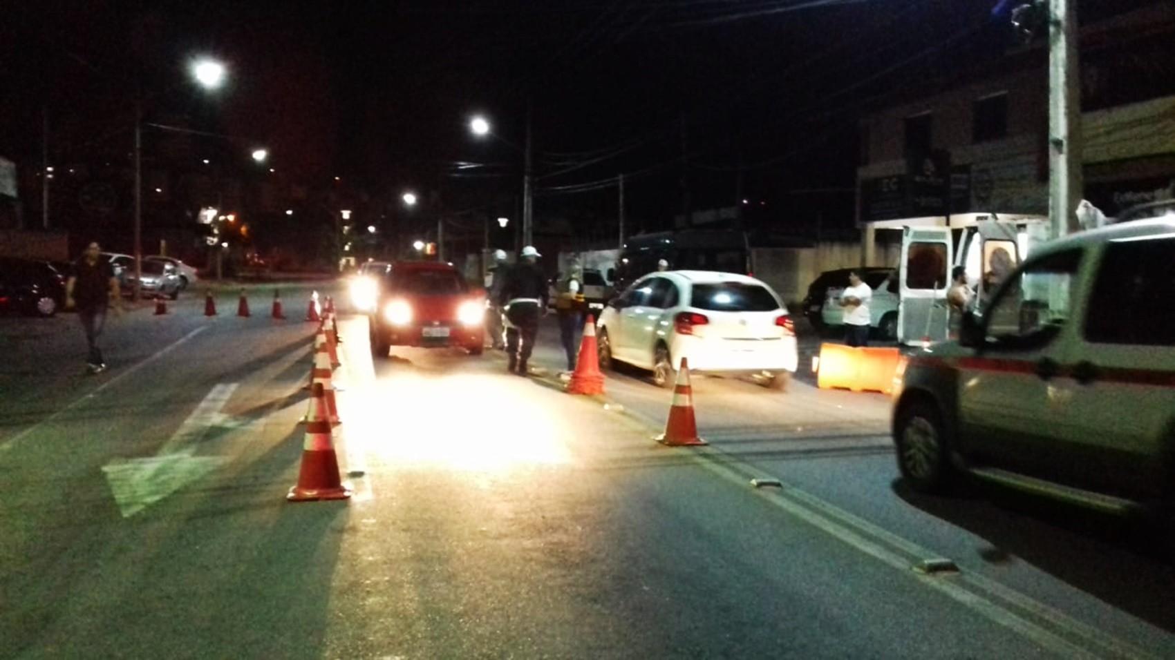 Blitz da Lei Seca autua 20 motoristas por embriaguez ao volante em Nova Parnamirim, na Grande Natal - Notícias - Plantão Diário