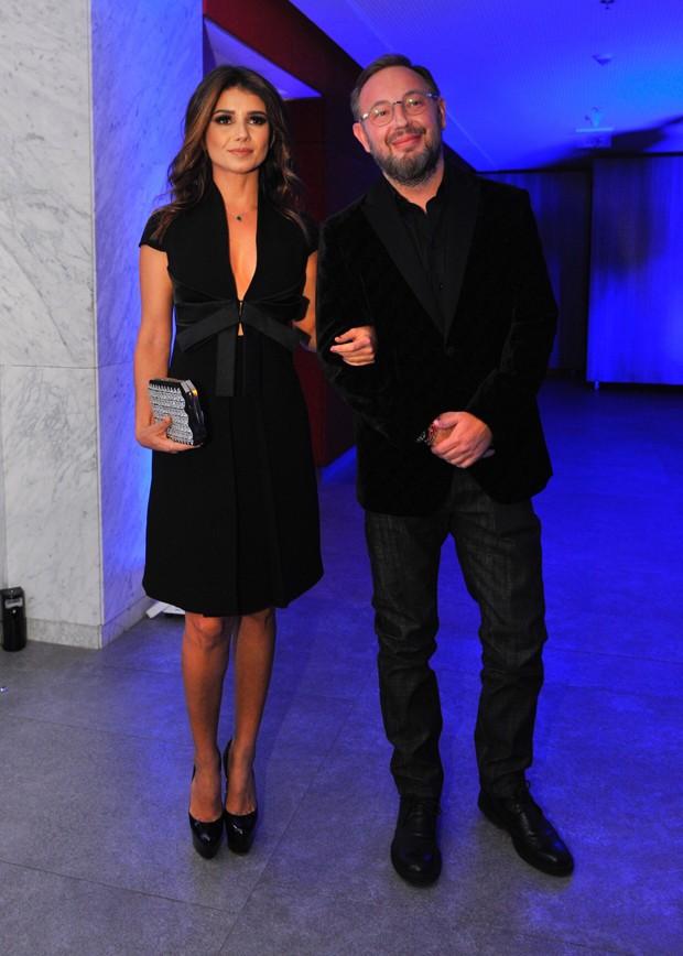 Paula Fernandes e Claudio Mello (Foto: Samuel Chaves/Brazil News)