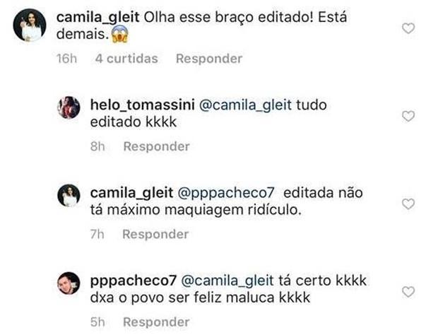 Fãs acusam Marília Mendonça de abuso de Photoshop (Foto: Reprodução/Instagram)