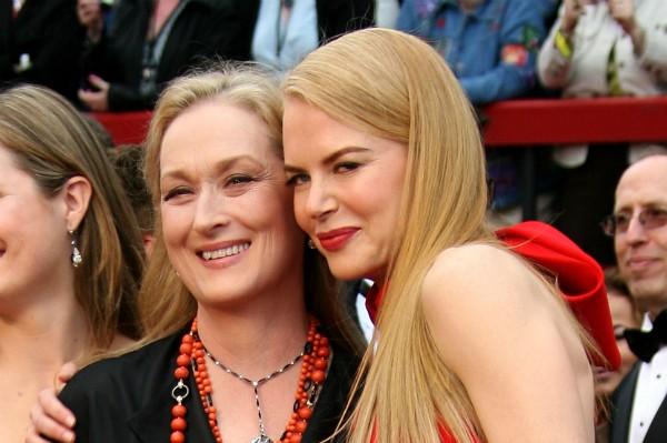 As atrizes Meryl Streep e Nicole Kidman (Foto: Getty Images)