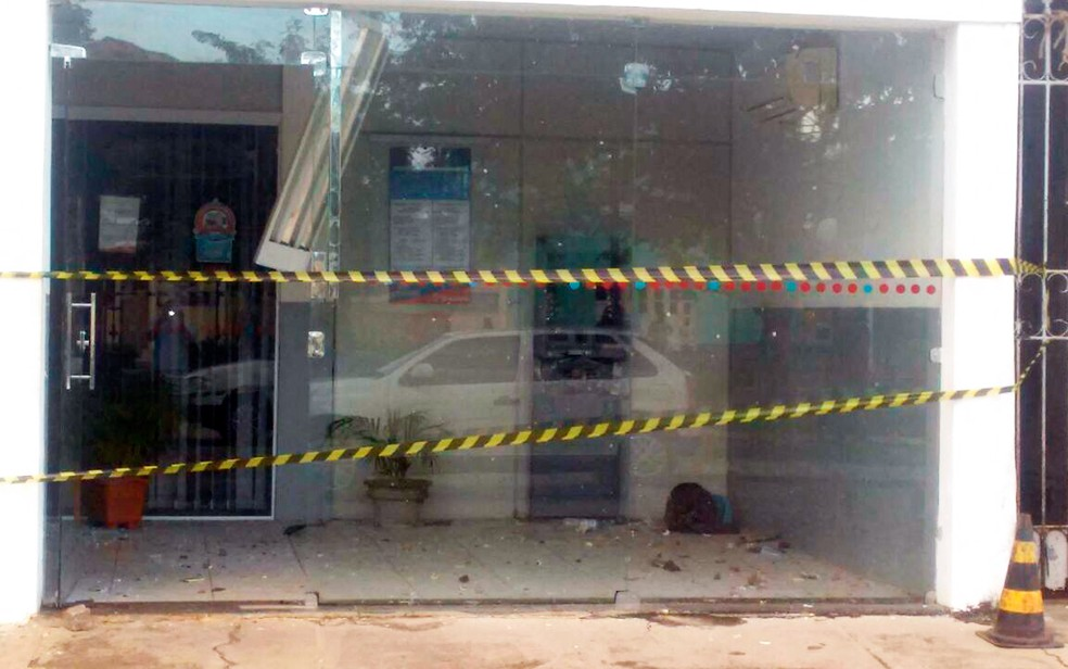Bandidos fugiram após ação (Foto: Arquivo pessoal)