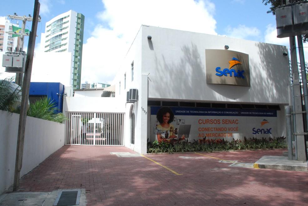 Unidade de Tecnologia da Informação e Comunicação (UTIC) do Senac, na Rua João de Barros, no bairro do Espinheiro, Zona Norte do Recife (Foto: Giovanni Chamberlain/Divulgação)