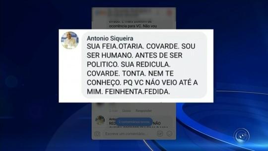 Mulher xingada de 'feia e fedida' por presidente da Câmara de Capão Bonito registra queixa na polícia