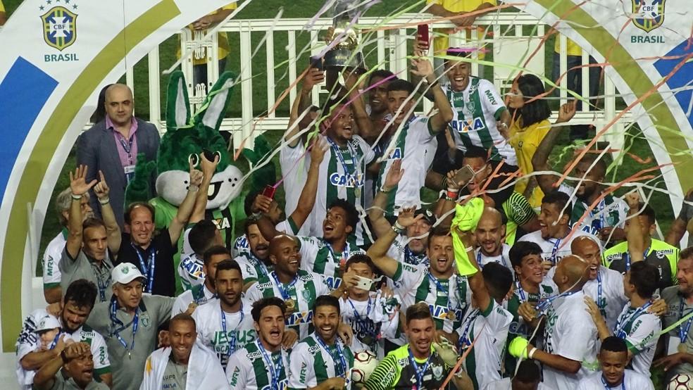 América-MG foi o campeão da Série B no ano passado (Foto: Luiz Martini)