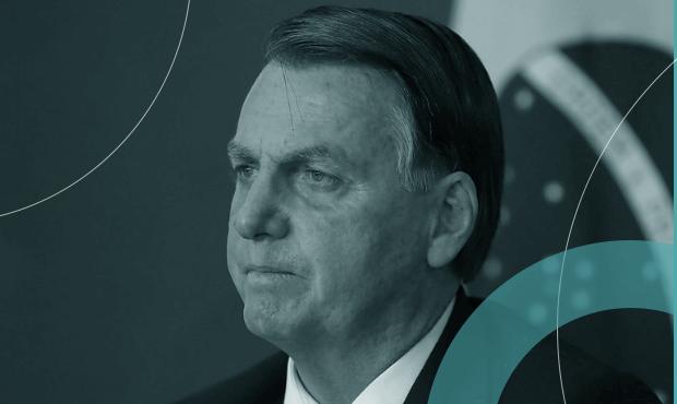 Bolsonaro em reunião sobre os 30 anos do Mercosul, em março: dificilmente presidente deixará passar frase de Fernández