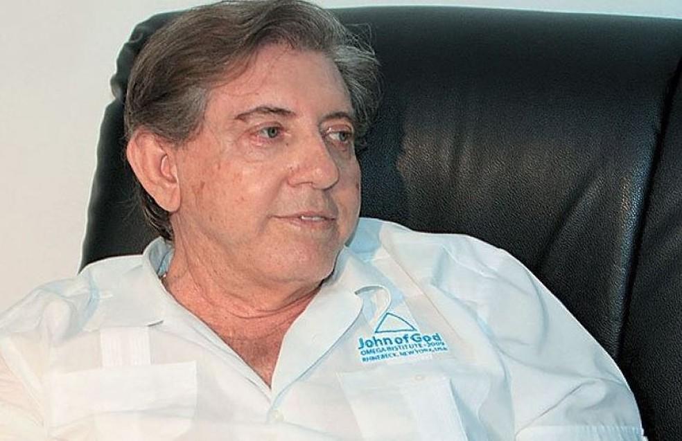 Médium João de Deus foi preso após denúncias de abusos sexuais de mais de 330 mulheres  — Foto: Reprodução/site Casa de Dom Inácio