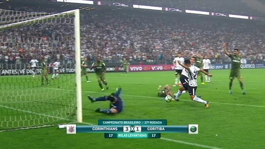 """Roger Flores vê lance """"duplamente irregular"""" em gol do Corinthians"""