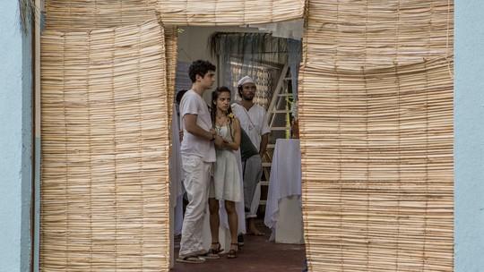 'Vidas Brasileiras': veja imagens e vídeo exclusivos do incêndio do terreiro de Talíssia!