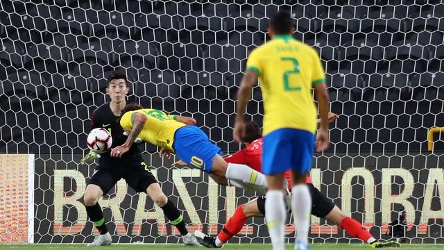 Gol, Brasil x Coreia do Sul, Lucas Paquetá