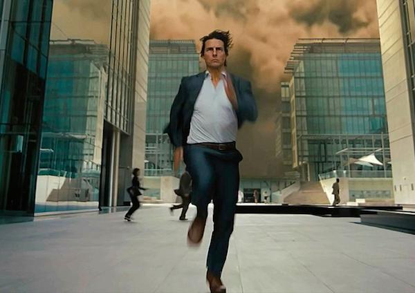 O ator Tom Cruise em cena de 'Missão: Impossível' (Foto: Reprodução)