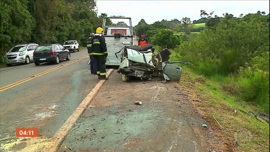 Quatro pessoas morrem em acidente no RS