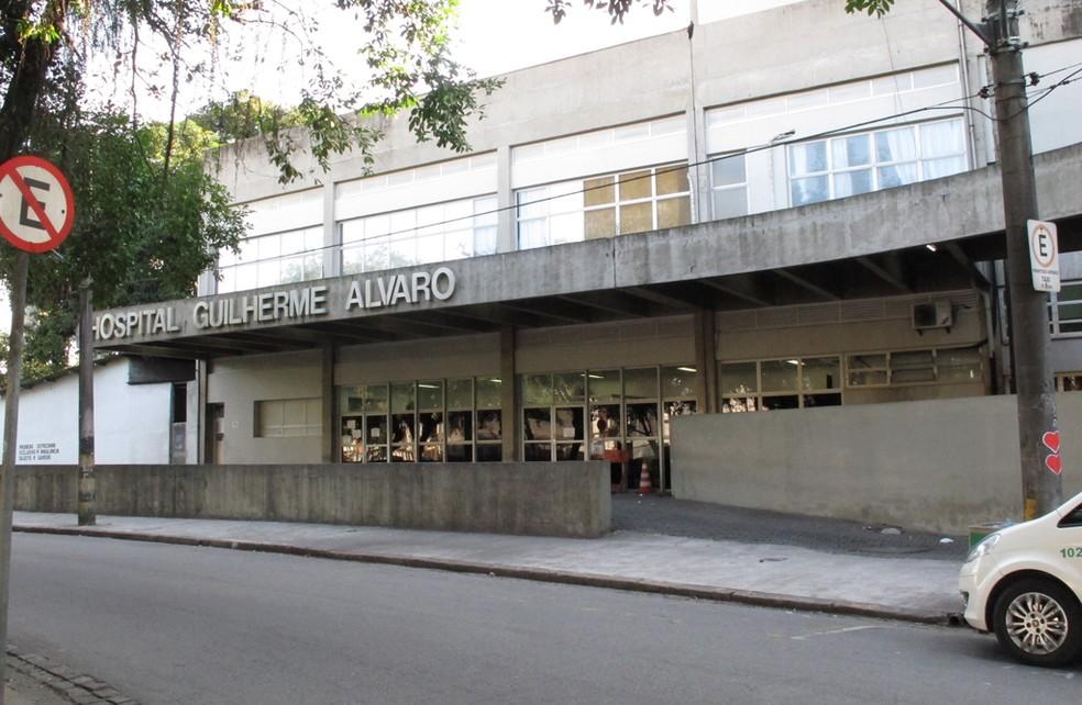 Roseli estava internada no Hospital Guilherme Álvaro (Foto: Anna Gabriela Ribeiro/G1)