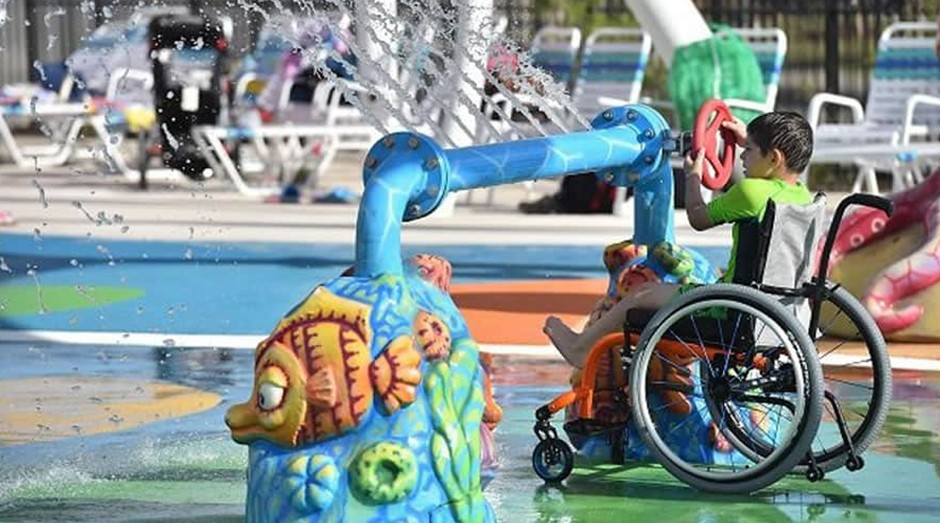 Uma das principais atrações aquáticas no parque, o Recife do Arco-íris (Foto: Divulgação)