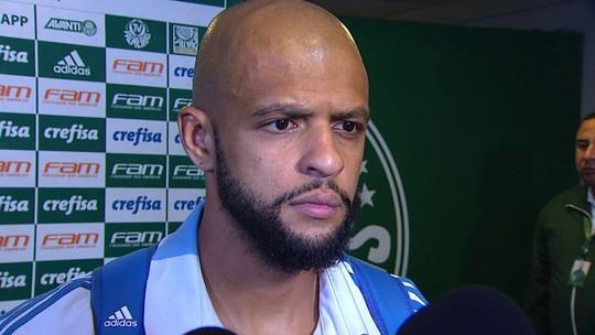 Vídeo: capitão do Palmeiras, Felipe Melo se orgulha de função contra o Bahia