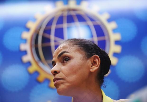A ex-ministra Marina Silva foi candidata à presidência (Foto: Mario Tama/Getty Images)