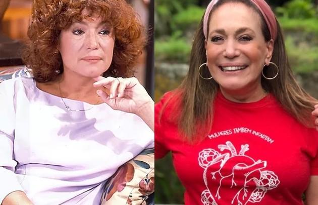 Susana Vieira viveu Clarita, mãe de Marcos e Malu. Seu último papel em novelas foi em 'Éramos seis' (Foto: Reprodução)