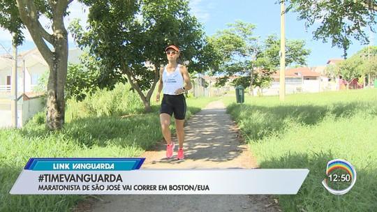 Corredora de São José dos Campos se prepara para disputa da Maratona de Boston, nos EUA