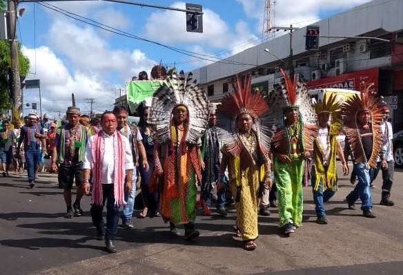 Em protesto no AC, indígenas pedem preservação de território e atuação nas políticas públicas - Noticias