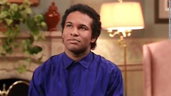 Geoffrey Owens em 'The Cosby Show' (Foto: Divulgação)