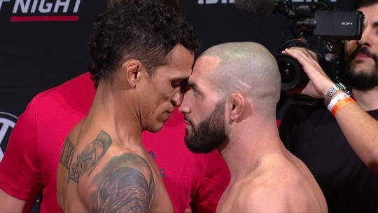 Pesagem do UFC São Paulo: Charles do Bronx x Jared Gordon pelo peso-leve